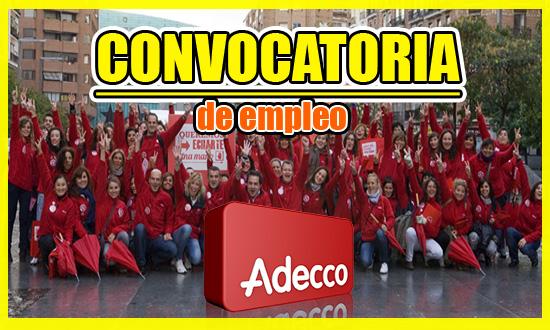 Compañía Adecco – Convocatoria de Empleo Colombia