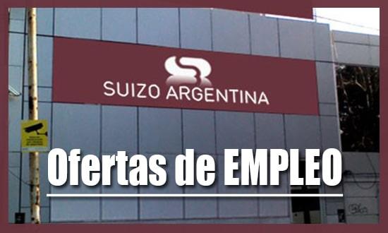 Suizo Argentina Tiene Varias Ofertas de Trabajo
