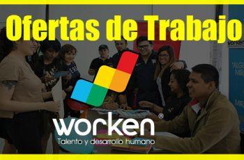 Worken Tiene mas de 600 Ofertas de Empleo-México