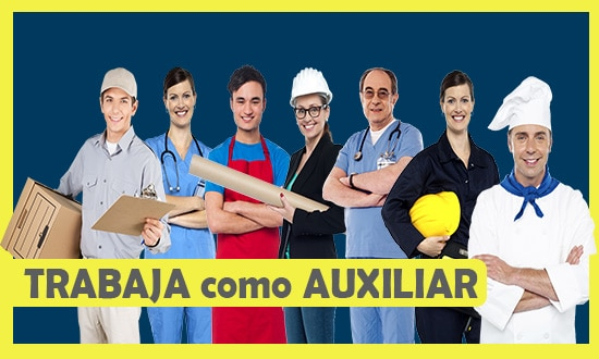 Solicitan Auxiliares Para Diferentes Partes en Argentina