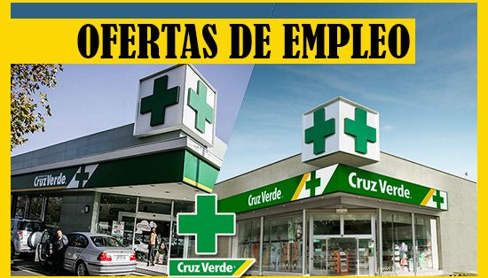 Farmacias Cruz Verde Solicita Personal de Trabajo - Chile