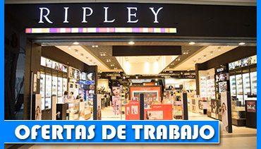 Ripley Solicita Personal Para Diferentes Áreas de Trabajo - Chile