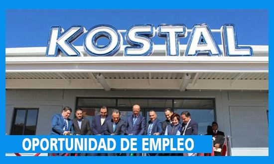 La empresa KOSTAL Solicita Personal de Trabajo – México