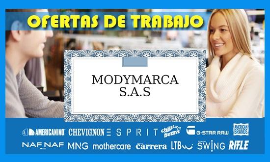 Modymarca s.a.s Tiene Ofertas de Trabajo en Colombia