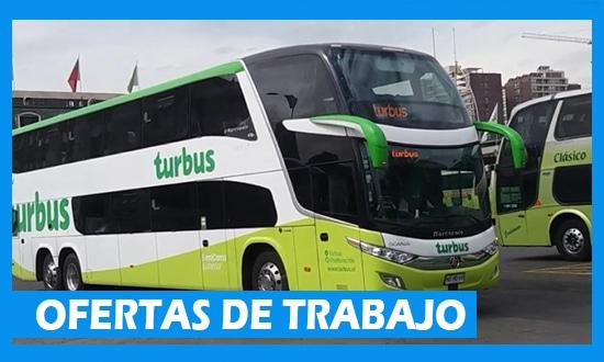 Turbus Solicita Personal de Trabajo en Chile