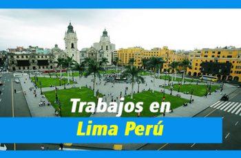 Oportunidades de Trabajo en Lima Perú