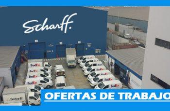 Ofertas de Trabajo en SCHARFF Perú