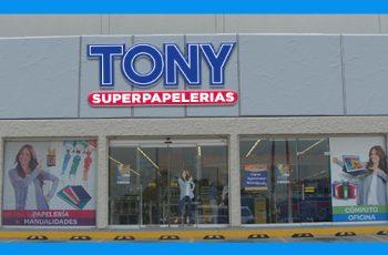 Tony Superpapelerias Tiene Disponible Vacantes de Trabajo